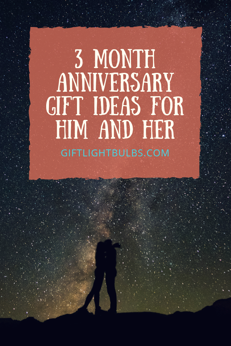 3 Month Anniversary Amazing Gift Ideas for Him and Her | 3