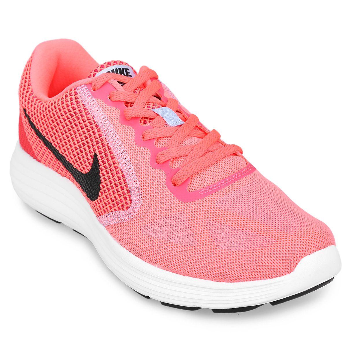 1d6c3b8938205 Zapatillas Nike Revolution 3 Rosa