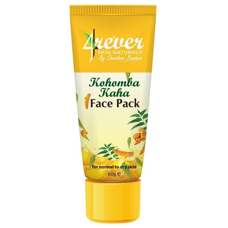 4ever Kohomba Kaha Face Pack Herbal 60g Smooth Skin Face Scrub Face