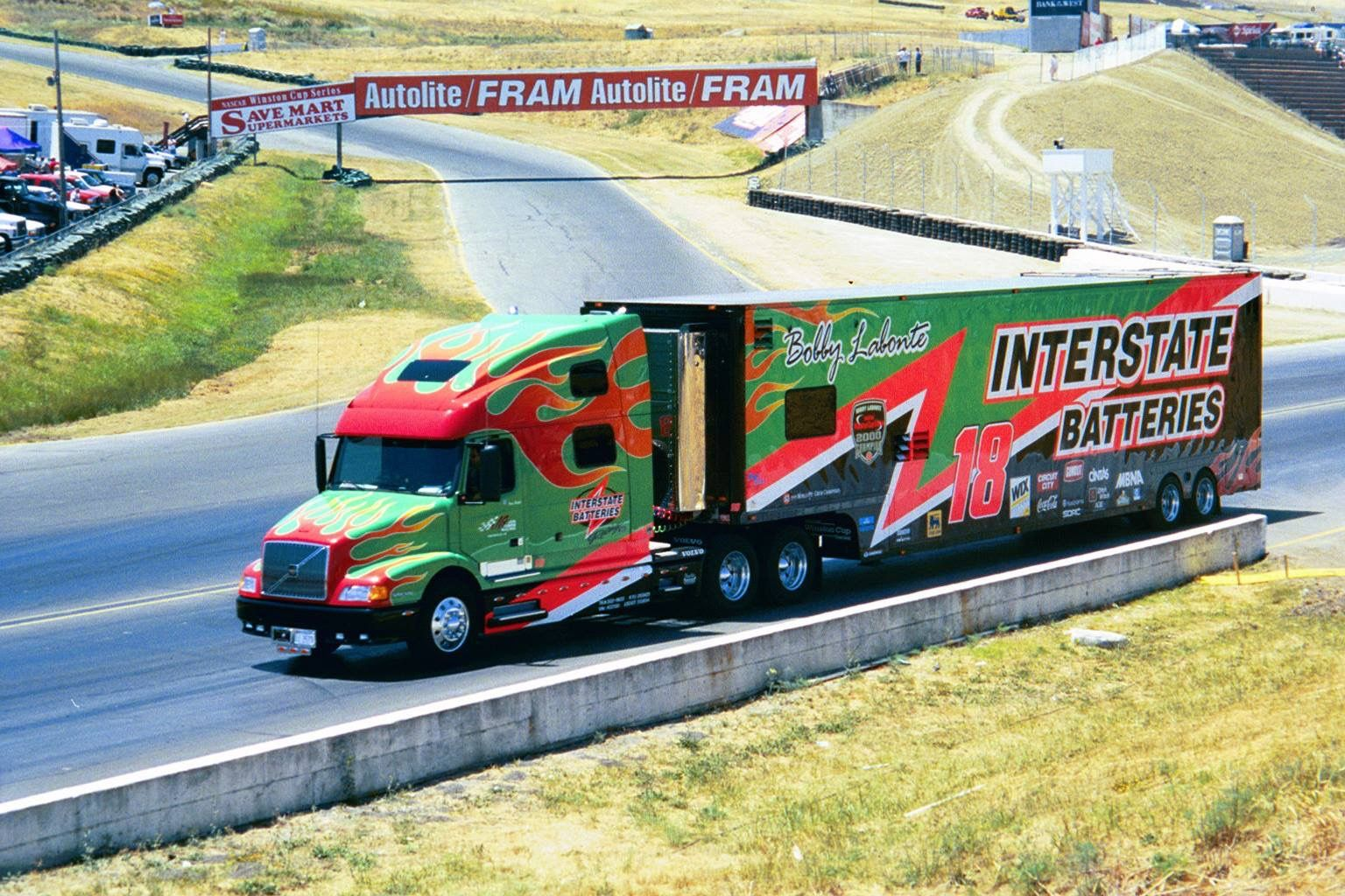 Interstate Batteries Nascar Hauler Transporter Volvo