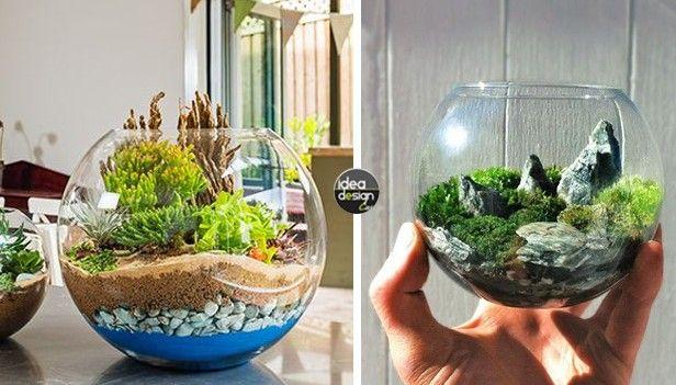 Giardini in miniatura fai da te diy tricks pinterest for Arredamento in miniatura
