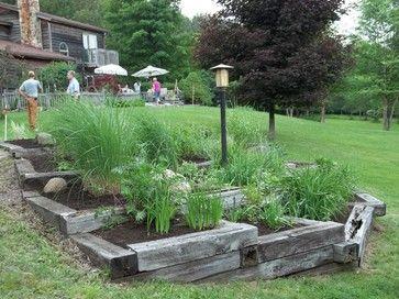 railroad ties for landscaping | 512 railroad tie Landscape Design ...