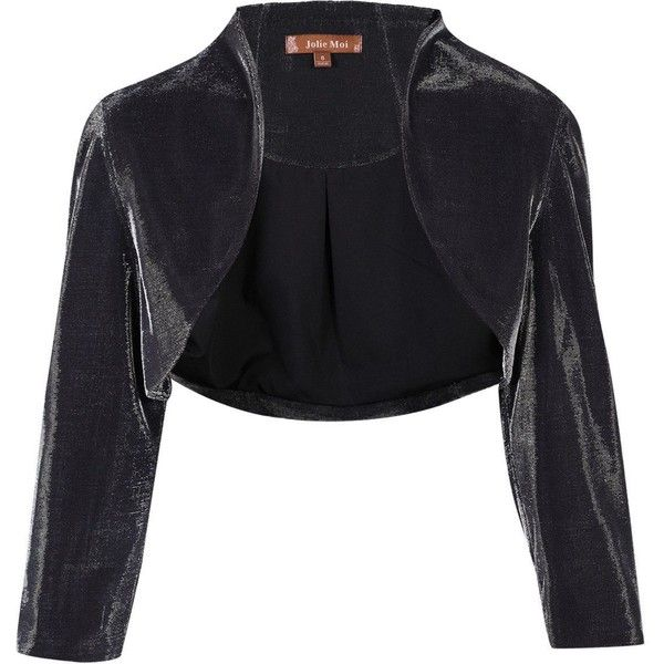 Silver Evening Bolero Jackets for Women