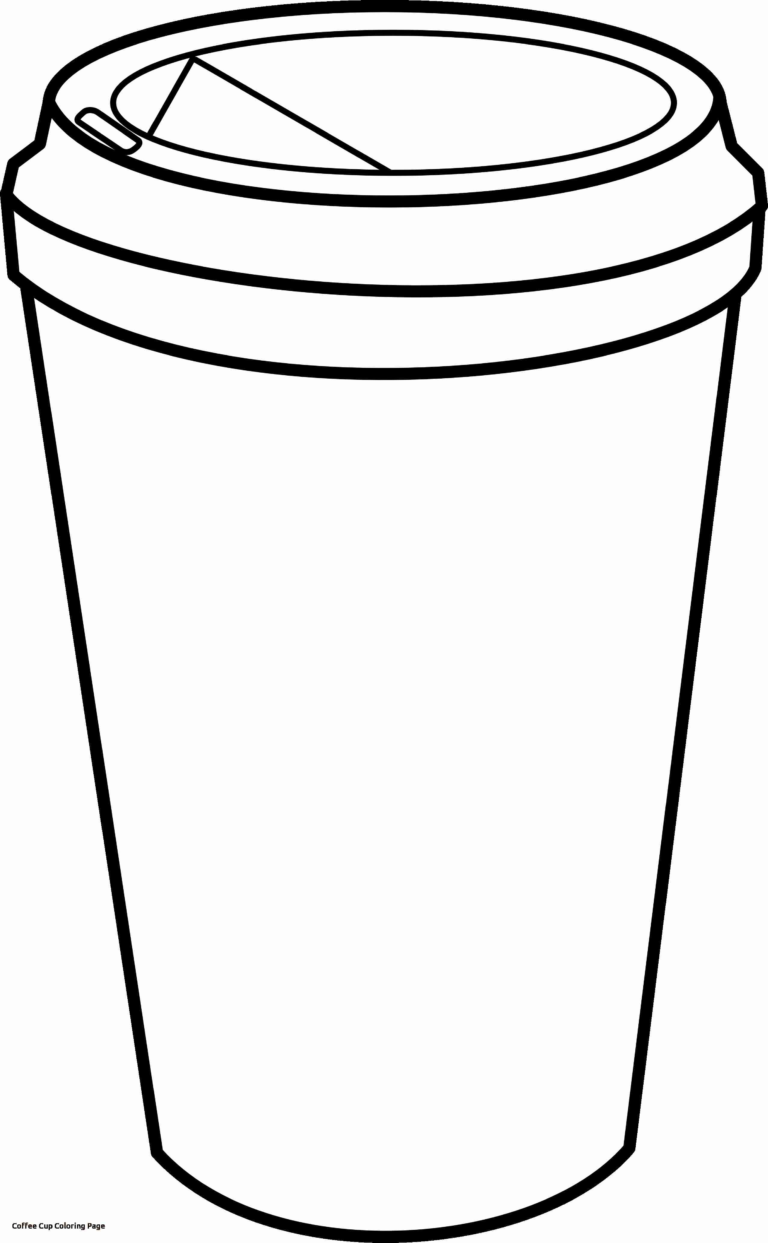 Coffee Mug Free Coloring Pages For Cup Page 7943 Coffee