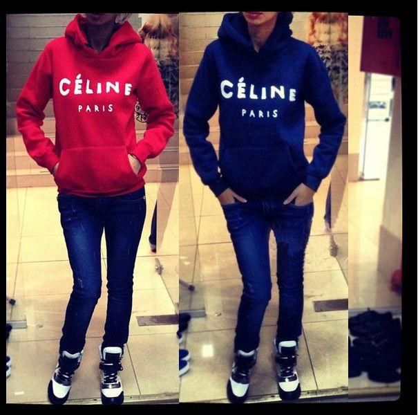 2XL New 2014 Ciline fleece warm winter PARIS letter print top Pullover Hoodies Sweatshirt plus size sweater for women $638,94 - 714,15