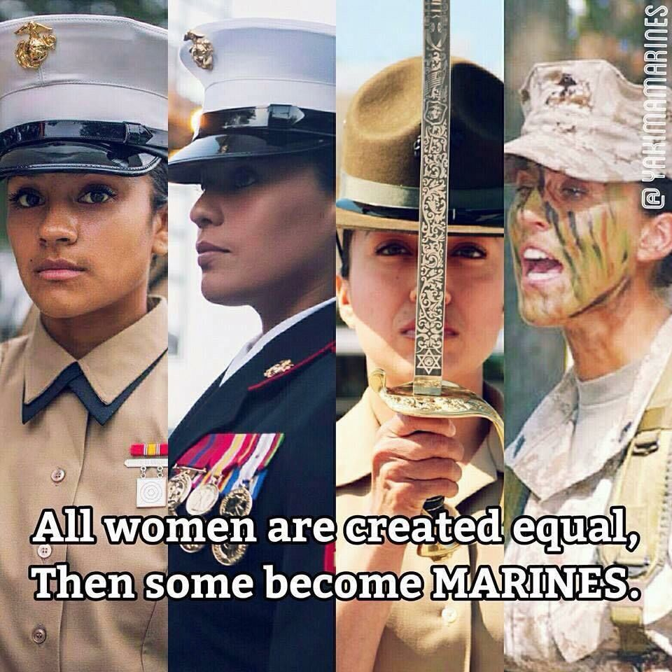 Happy 240th Birthday Female marines, Marine corps