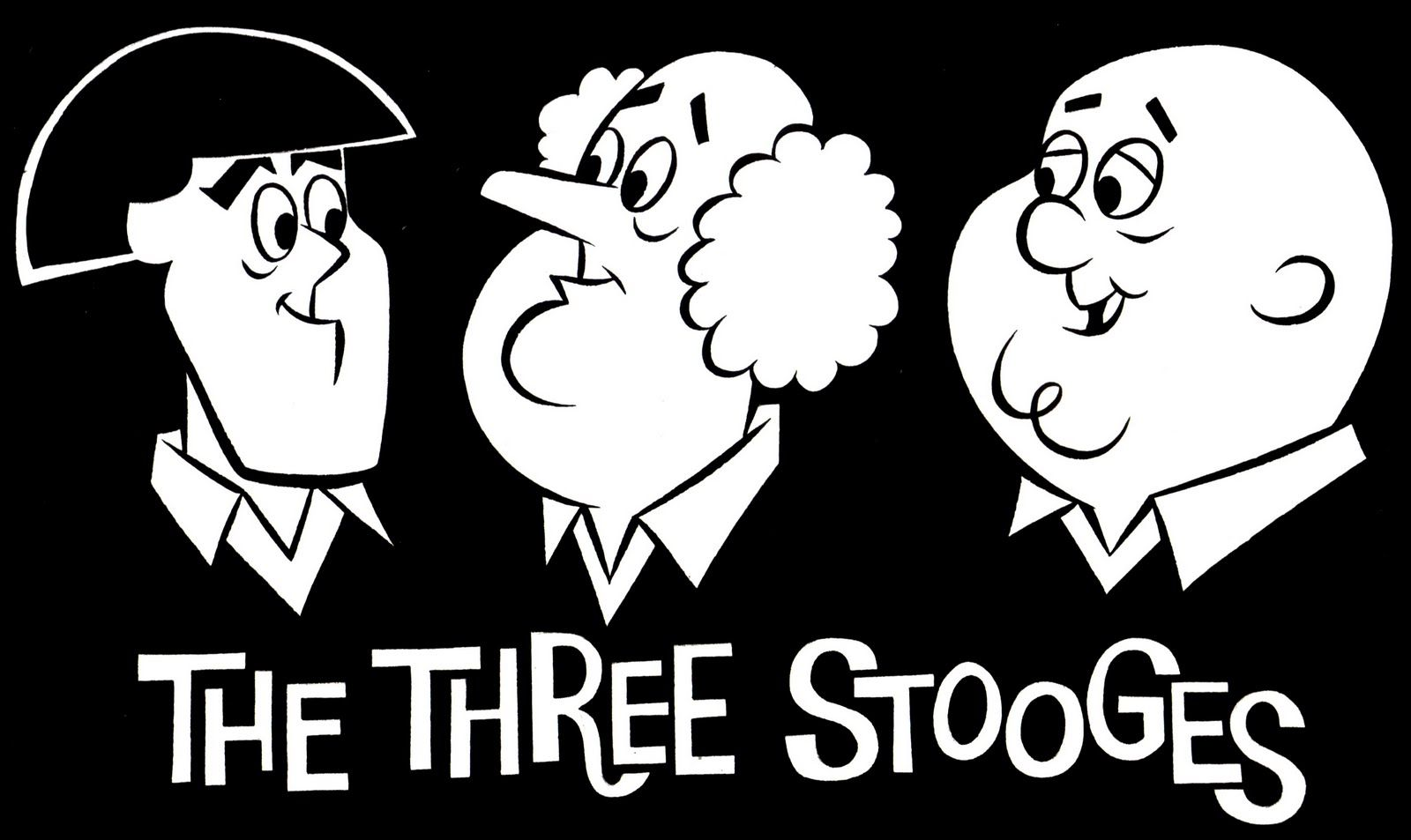 Maniac Moments The Gang Of Three The Three Stooges Classic Cartoon Characters Classic Cartoons