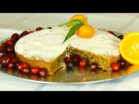 ▶ Cranberry apple and orange cake - YouTube