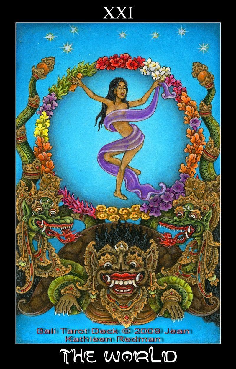 Le Tarot Egyptien De Dusserre: The Bali Tarot Deck By Jean Kathleen Redman