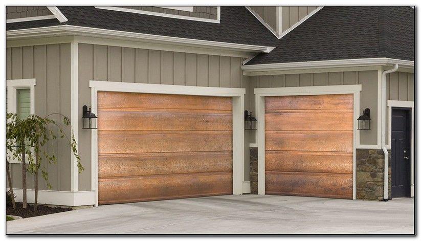 How To Clean A Copper Garage Door Martin Garage Doors Garage Doors Carriage House Doors