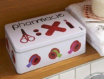 Metal Medicine Box