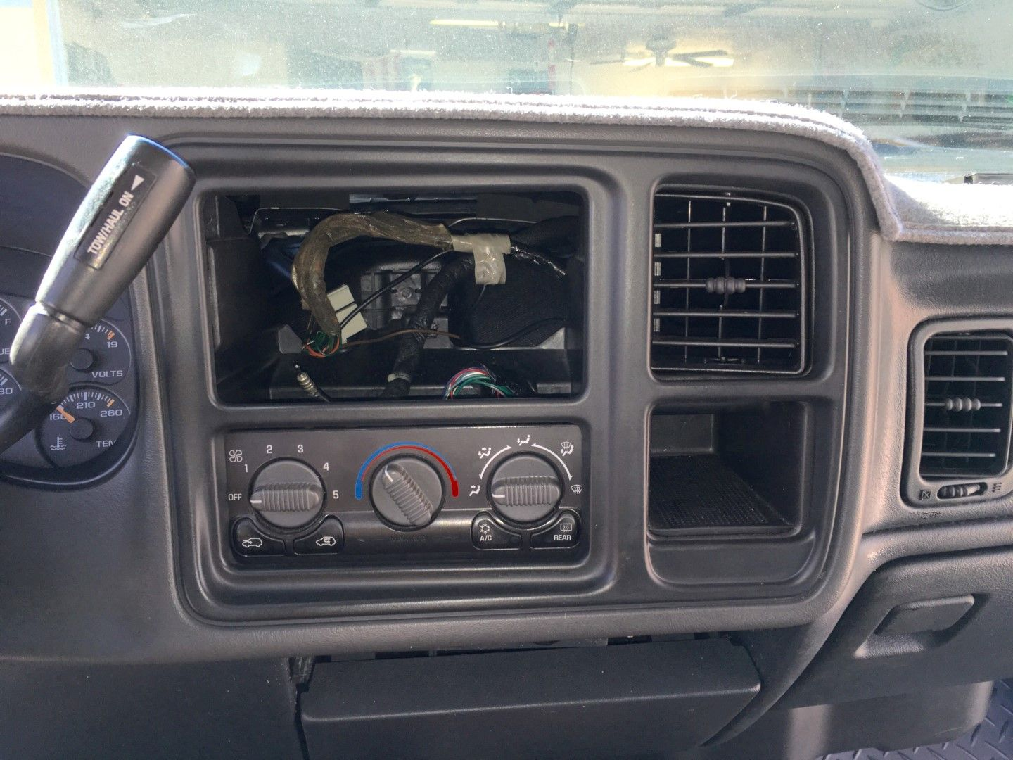 2002 Avalanche Radio Double Din Mod Chevy Avalanche Chevrolet Avalanche