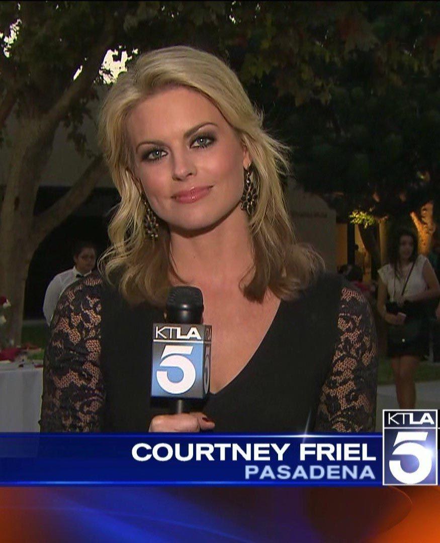 Courtney Friel KTLA 5 TV USA   Television News Anchors and
