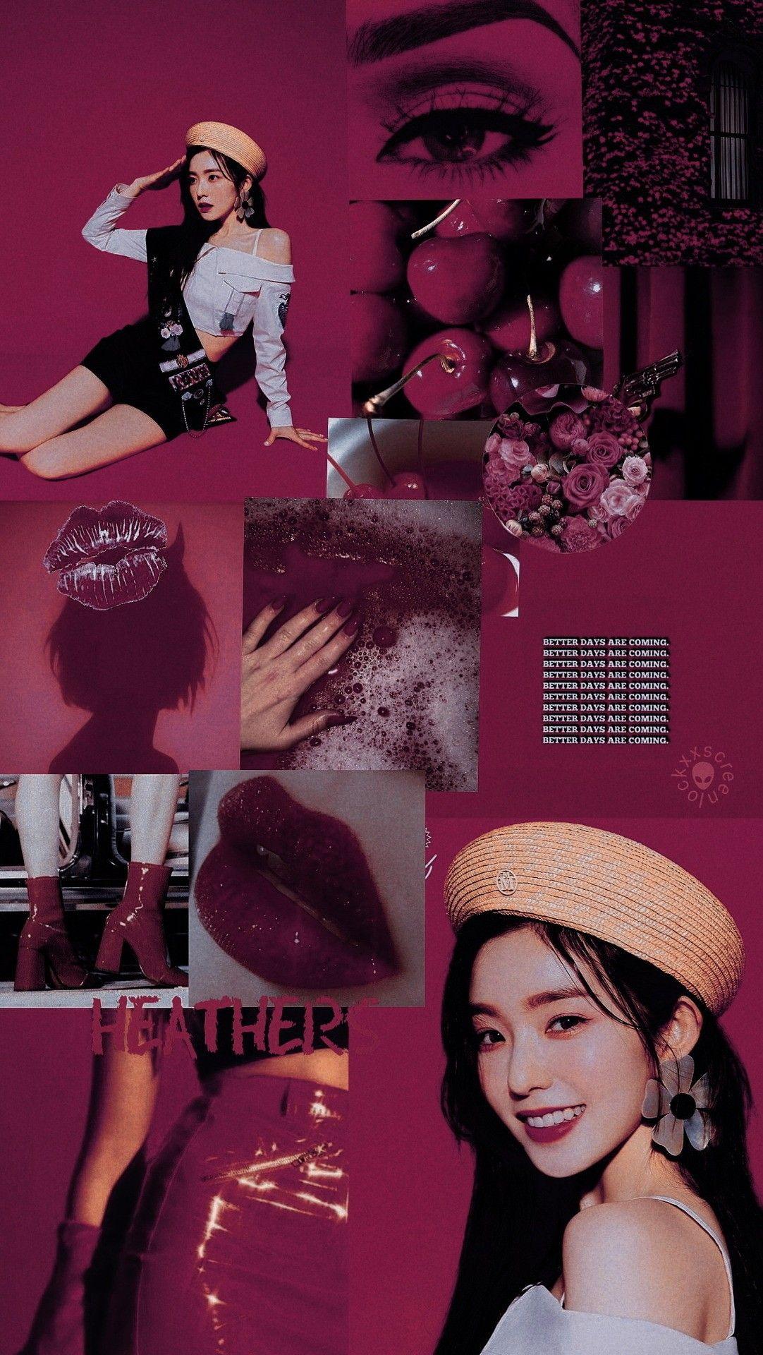 Red Velvet Irene Aesthetic Wallpaper Velvet Wallpaper Red Velvet Irene Red Wallpaper