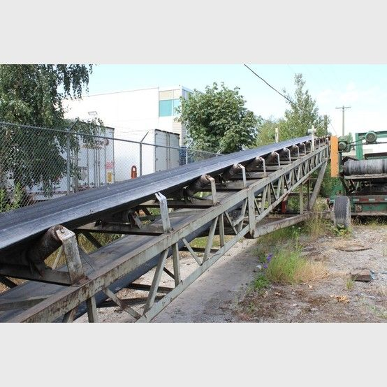 Used 36 inch x 80 ft Truss Conveyor for sale | Used radial