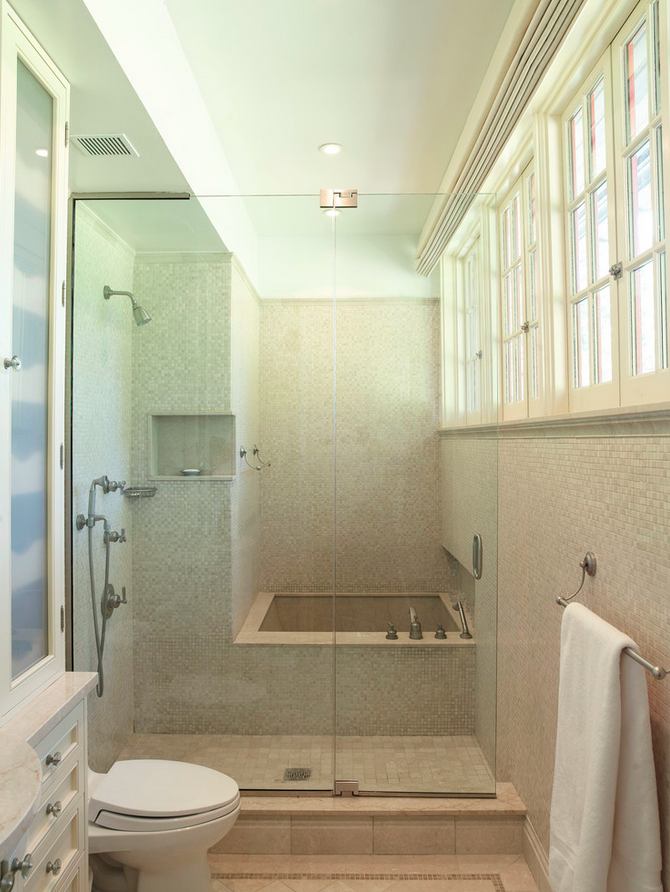Japanese soaking tub with shower  Bathroom Ideas Pinterest