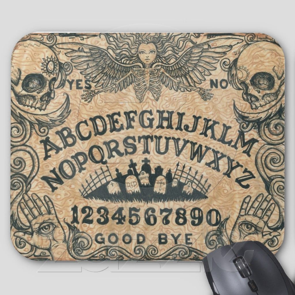 Ouija board angel mouse pad 28498 ouija ouija board buycottarizona Gallery