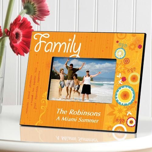 Family Sunshine And Flowers Picture Frame Products Pinterest