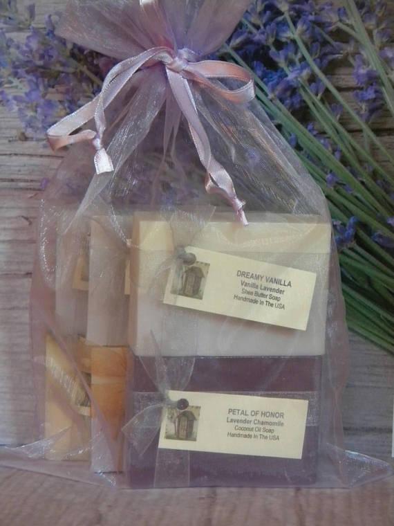 Lavender Soap Gift Set For Wife Gifts Grandma Nana Birthday Women Friend S
