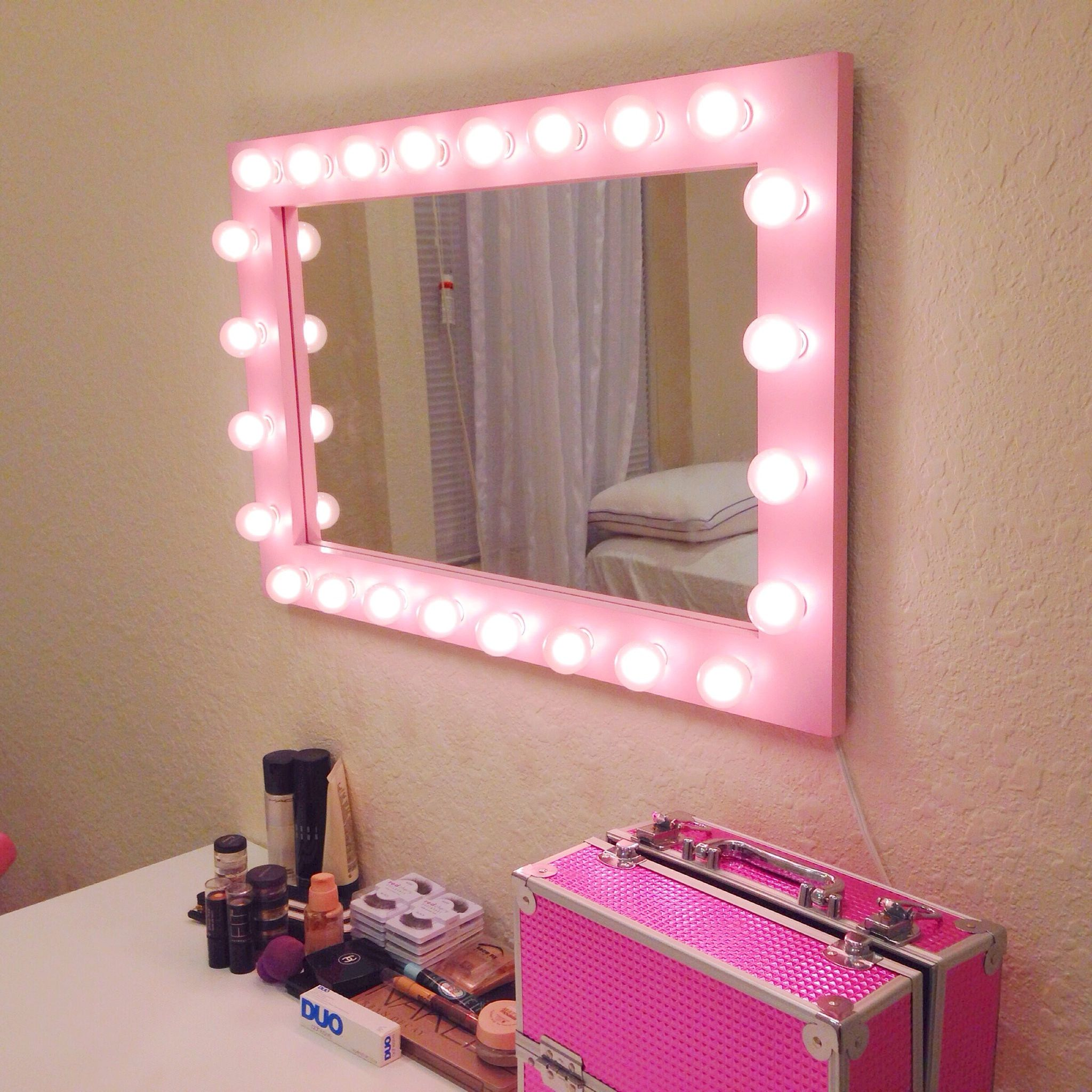 Jessica S Pretty N Pink Mirror With Images Pink Mirror