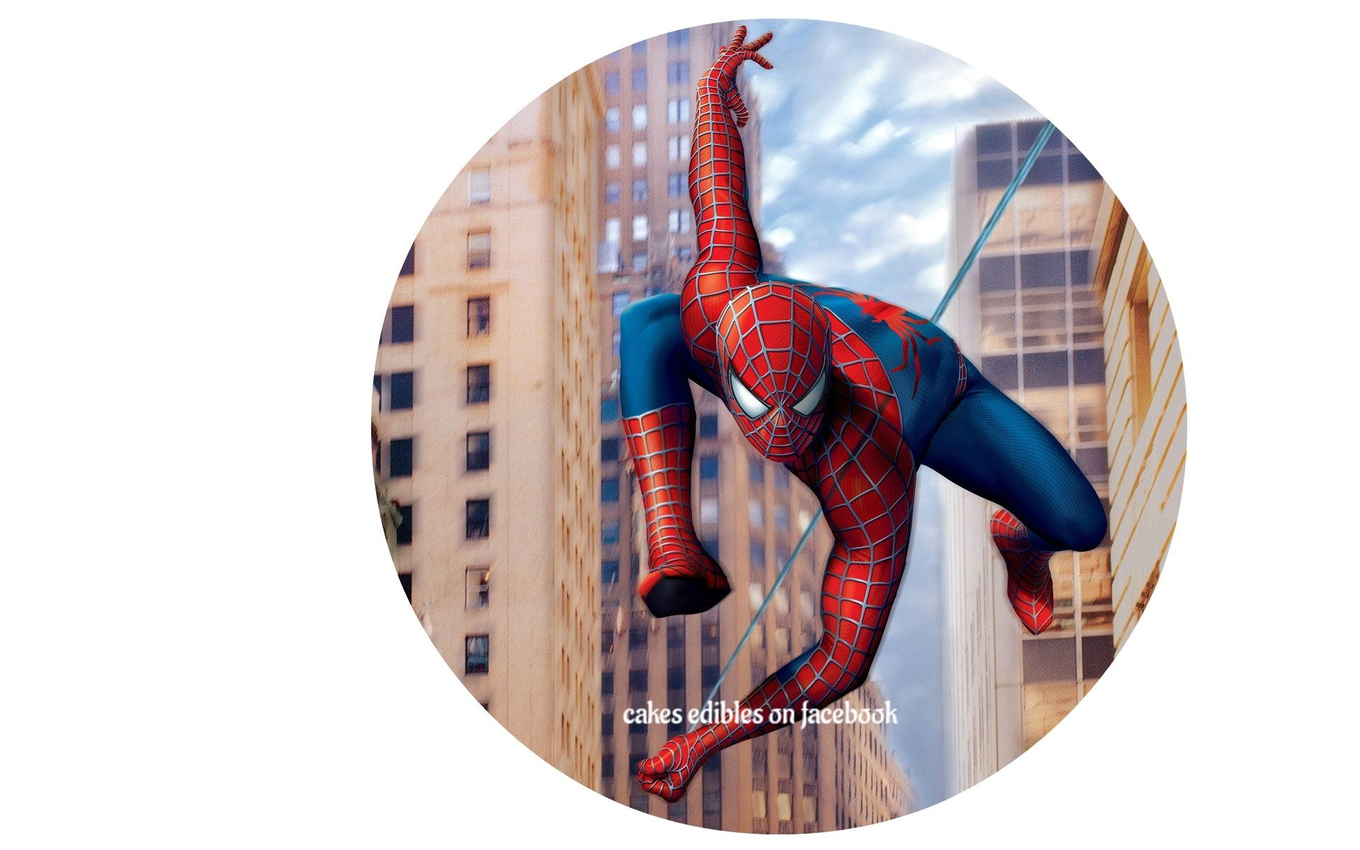 edible cake topper Spiderman pictures, Spiderman