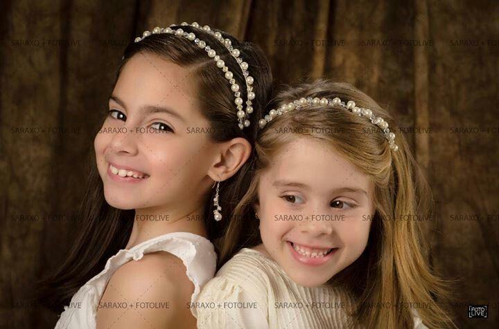 1000+ images about tocados para primera comunion on Pinterest