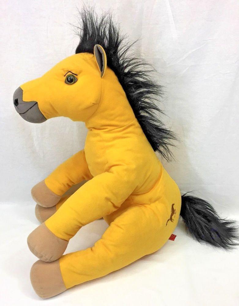 Spirit Horse Stallion Of The Cimarron 24 Plush Big Large Yellow