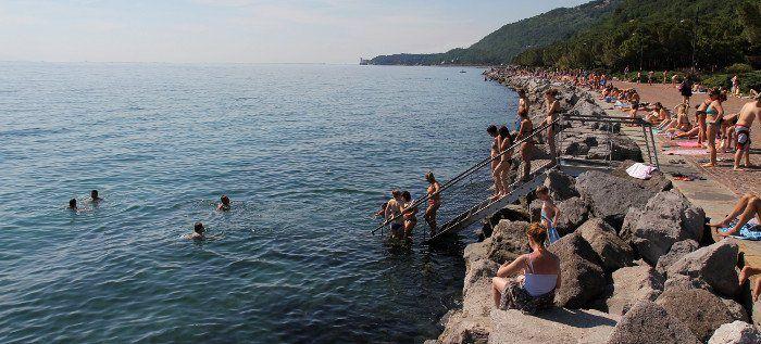 Trieste barcola trieste andare al bagno - Bagno ferroviario trieste ...
