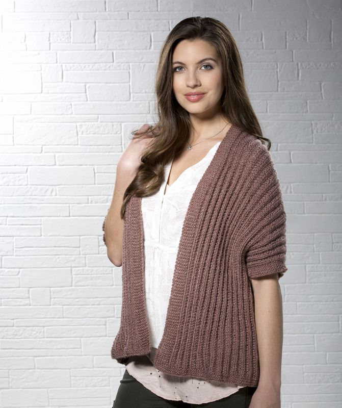 Rosy Disposition Ribbed Cardigan Knit Your Own Cardigan Free