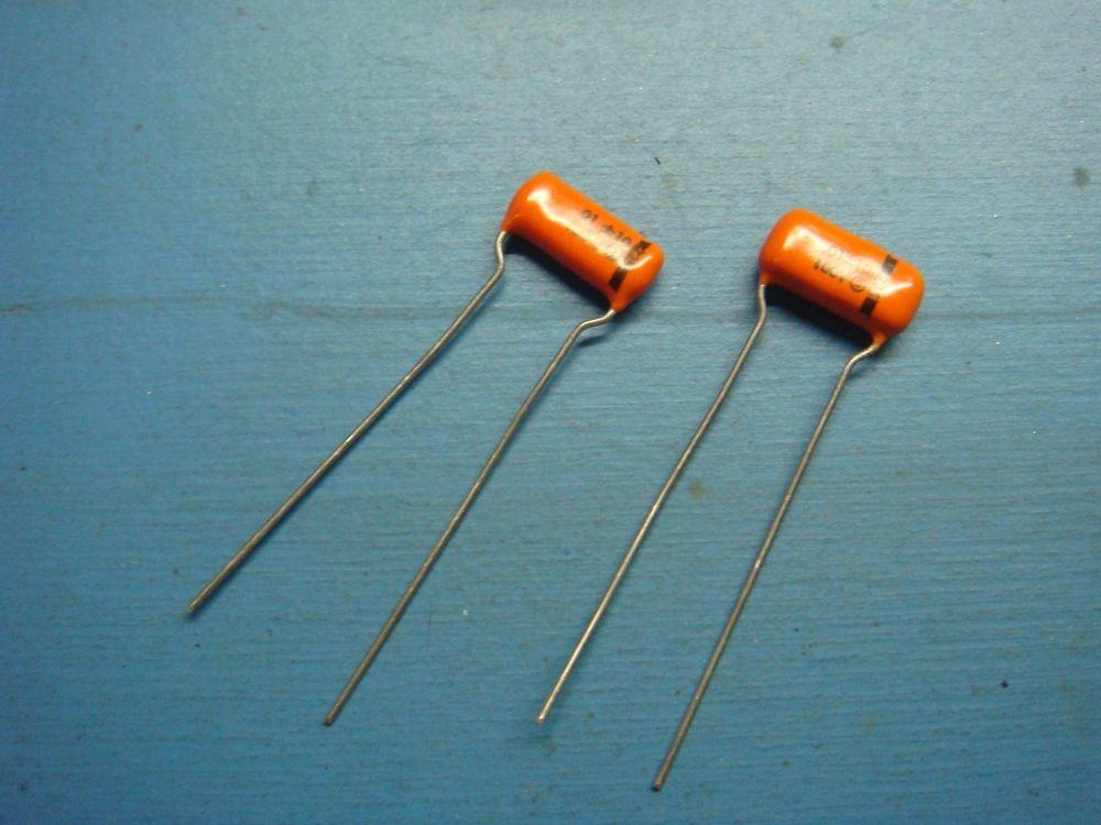 2 225p10391wd3 Sprague 225p 01uf 100v 10 Radial Orange Drop Capacitor Audio Ebay Electronics Components Capacitors Orange