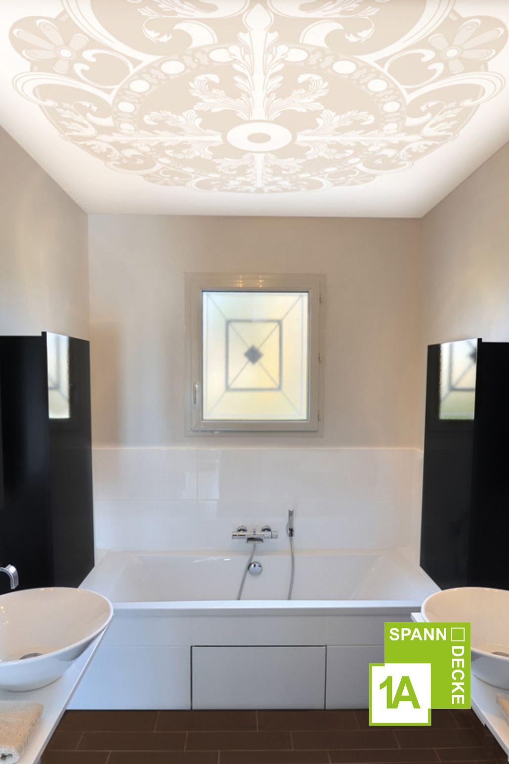 Lichtspanndecke Im Bad Spanndecken Deckenarchitektur Deckenverkleidung
