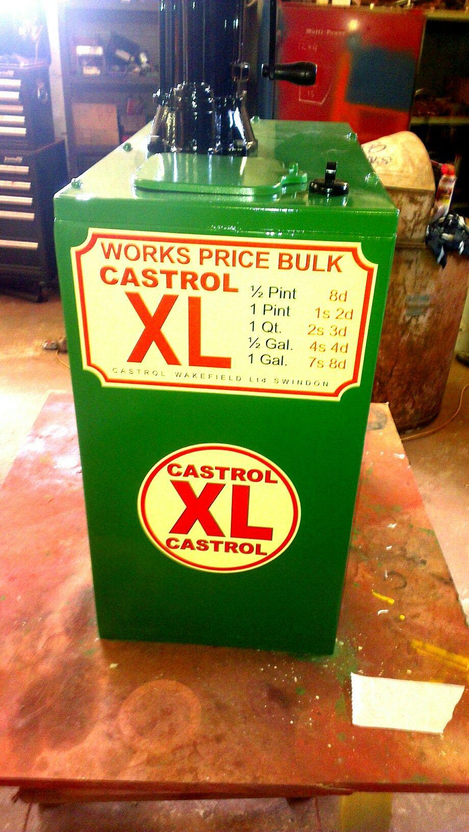 Castrol Oil Dispenser Oil And Gas Vintage Gas Pumps Oils