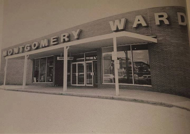Montgomery Wards Located At Mounds Mall Anderson Indiana My