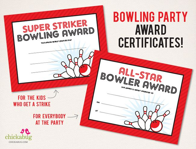 bowling awards ideas  75  page bowling party printables kit! | Bowling party, Party ...