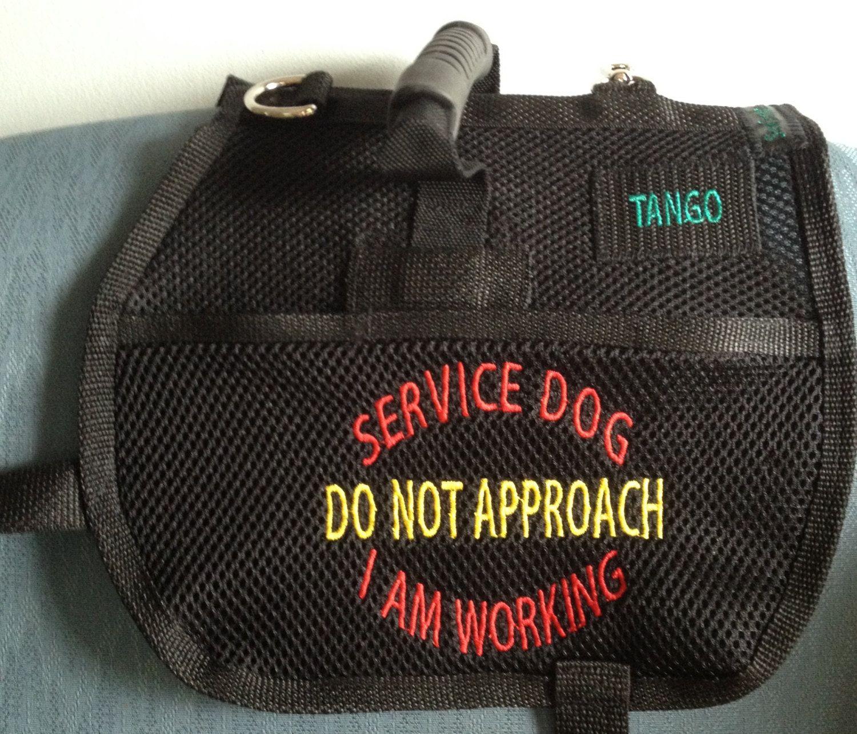 Service Dog Vest Colors