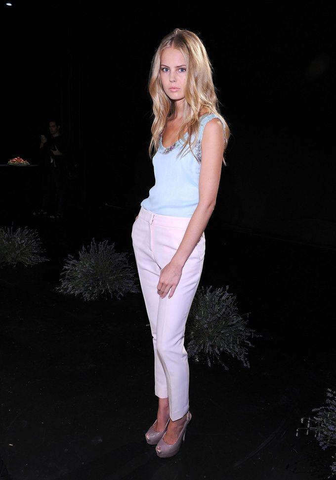 Moda: NY Fashion Week: Resumen desfiles miércoles 12. En la foto, Fontini...