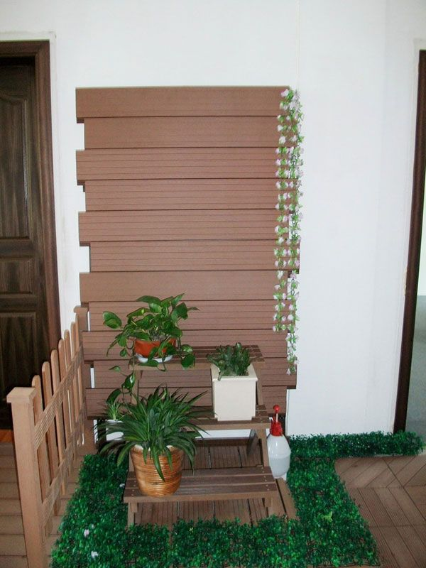 House Wood Paneling: Synthetic Wood Plastic Exterior Wall Panel, Wood Plastic
