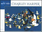 Charley Harper Mystery of the Missing Migrants Puzzle 1000 piece format