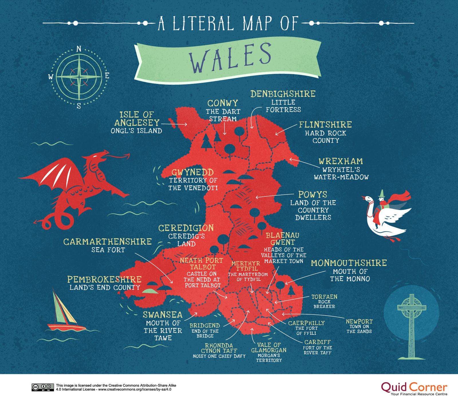 Reveal The Hidden Meaning Of Your County S Name By Finding It On