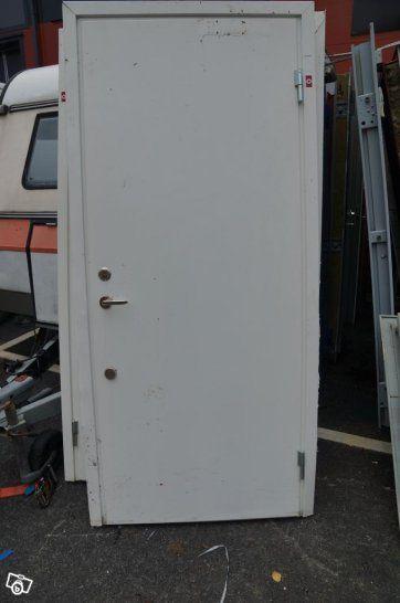Steel door Security door Fire door 210×90 cm