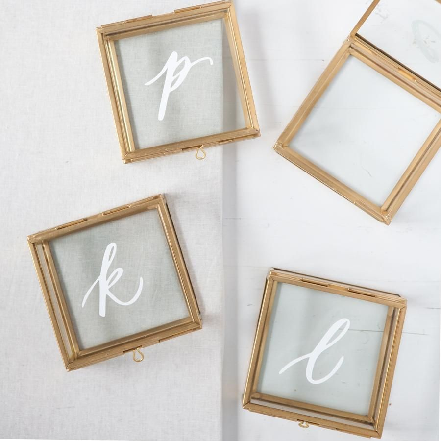 Personalized Glass Jewelry Box Weddings