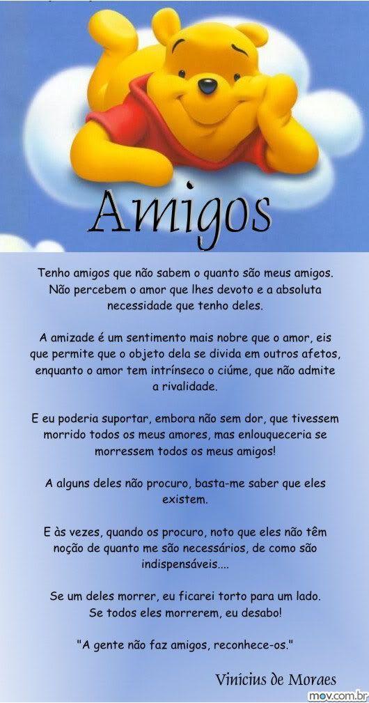 Poesia E Amizade Por Vinicius De Morais Amigos Delicadezas Da