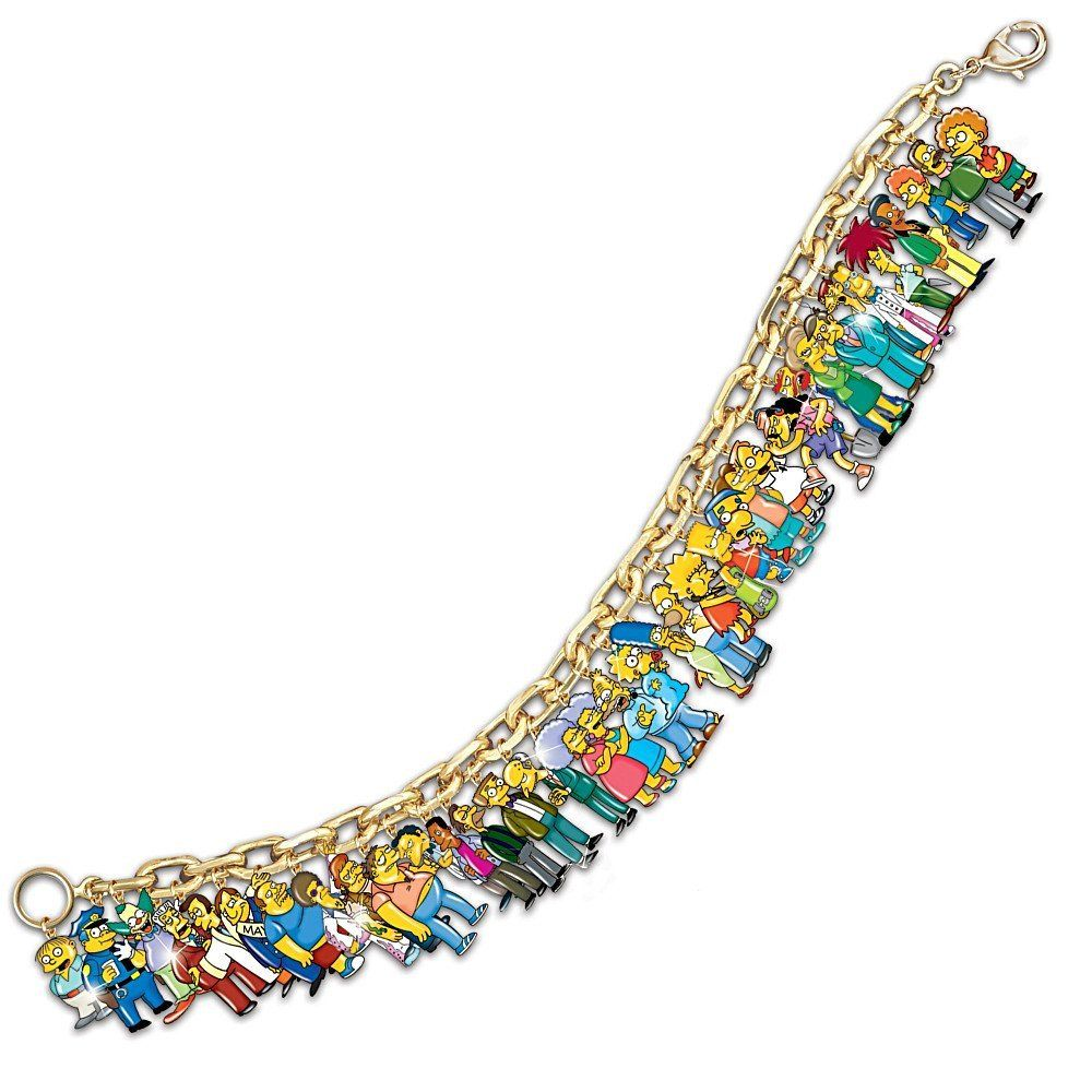 The Simpsons Ultimate Charm Bracelet | Essential trifle ...