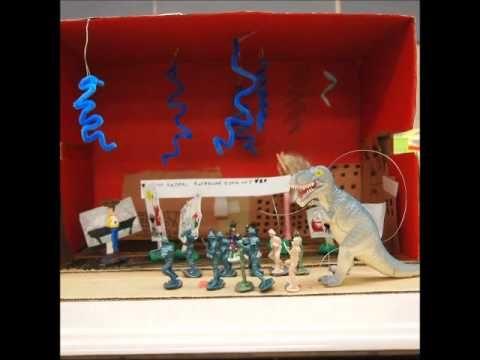 Mrs. Stuivenberg's Third Grade Class Presents Godzilla
