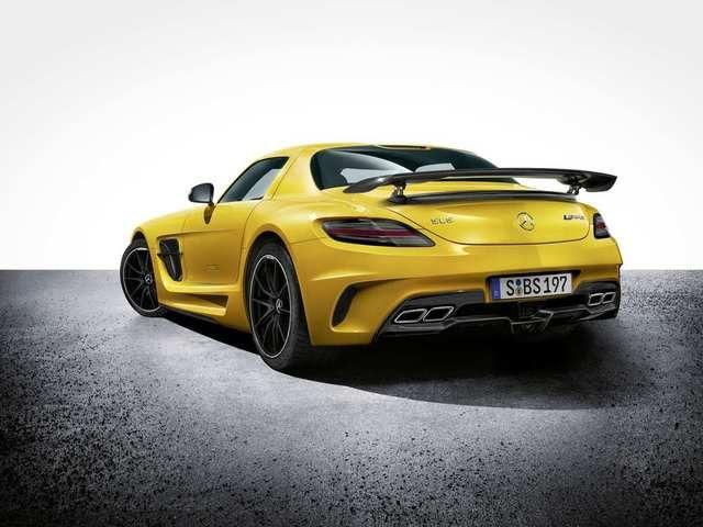 Die GT3-Variante des SLS diente den AMG-Ingenieuren als Inspirationsquelle - wie man unschwer erkennen kann. (Photo: © Mercedes-Benz)
