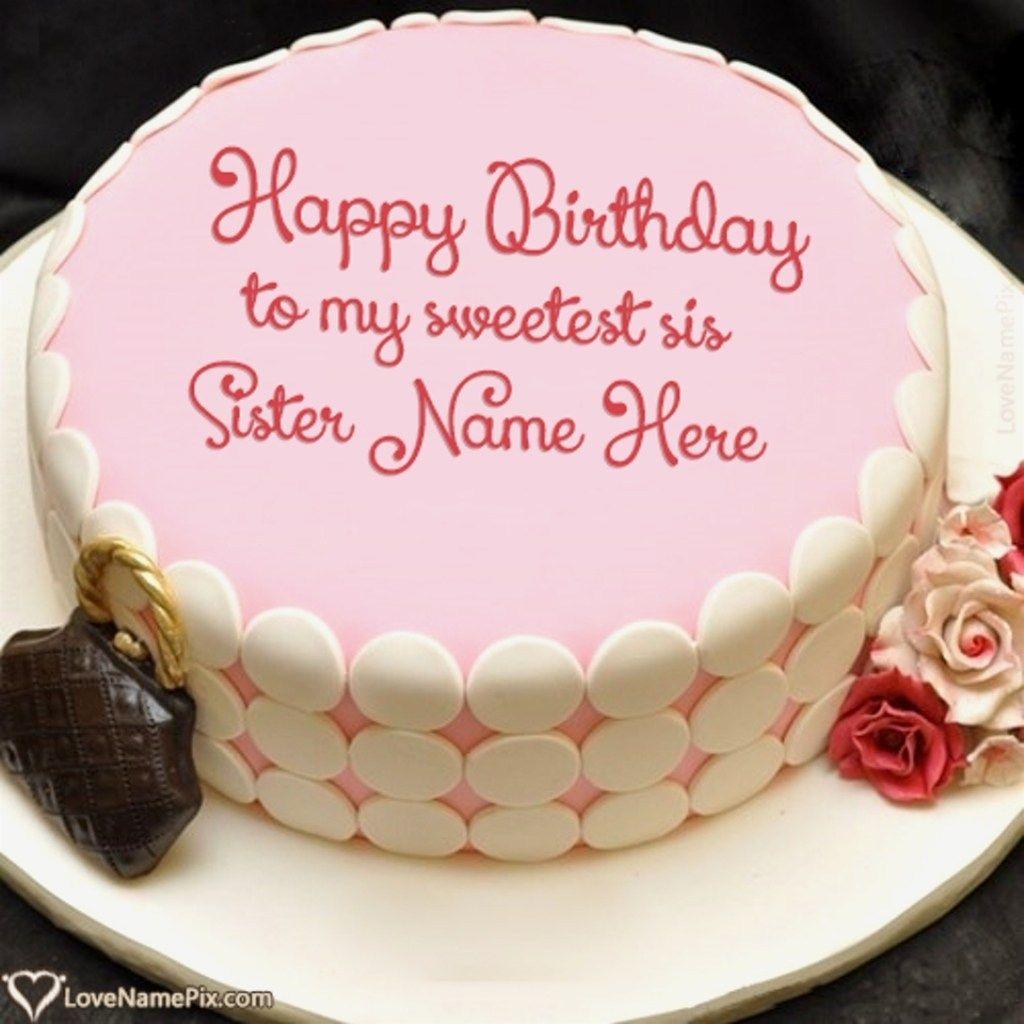 Strange 30 Marvelous Image Of Name On Birthday Cake With Images Personalised Birthday Cards Veneteletsinfo