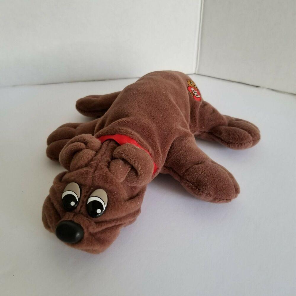Vintage Tonka Pound Puppies Rumple Skins Plush Puppy Dog