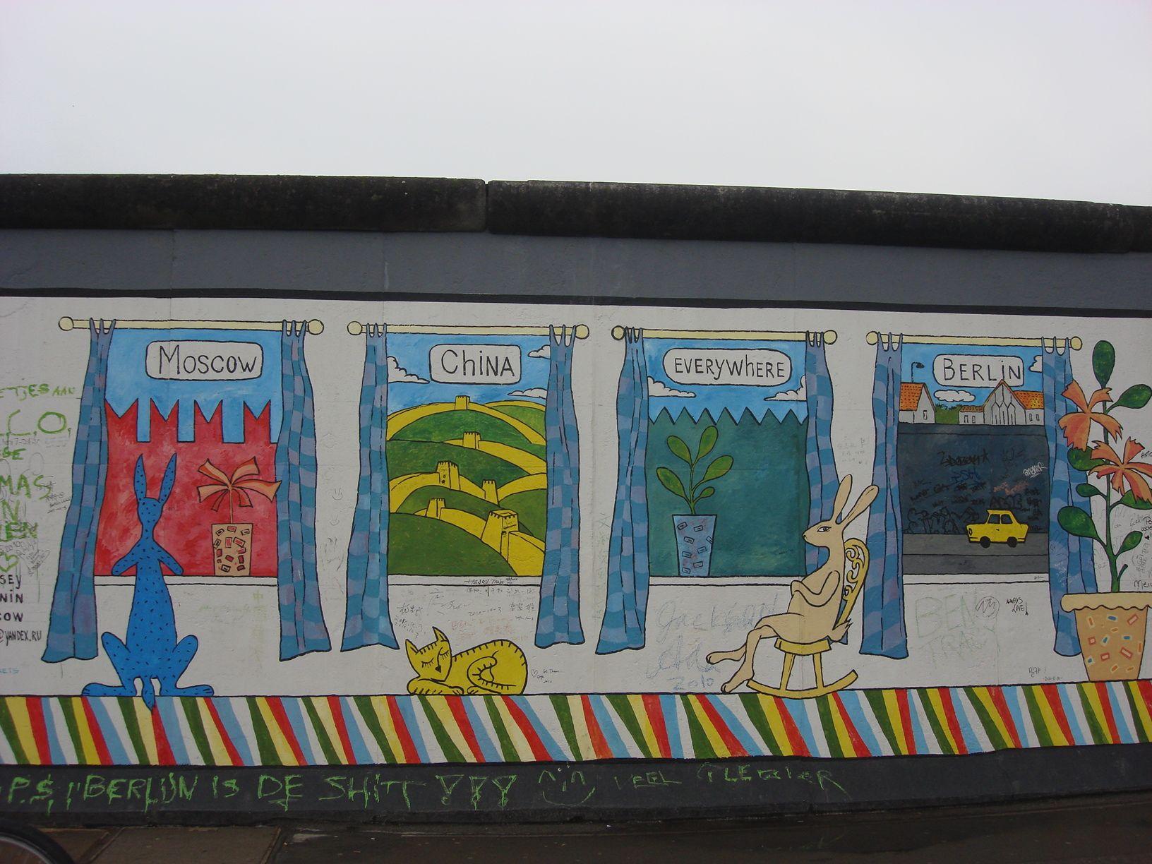 Berlino, The Wall in Berin