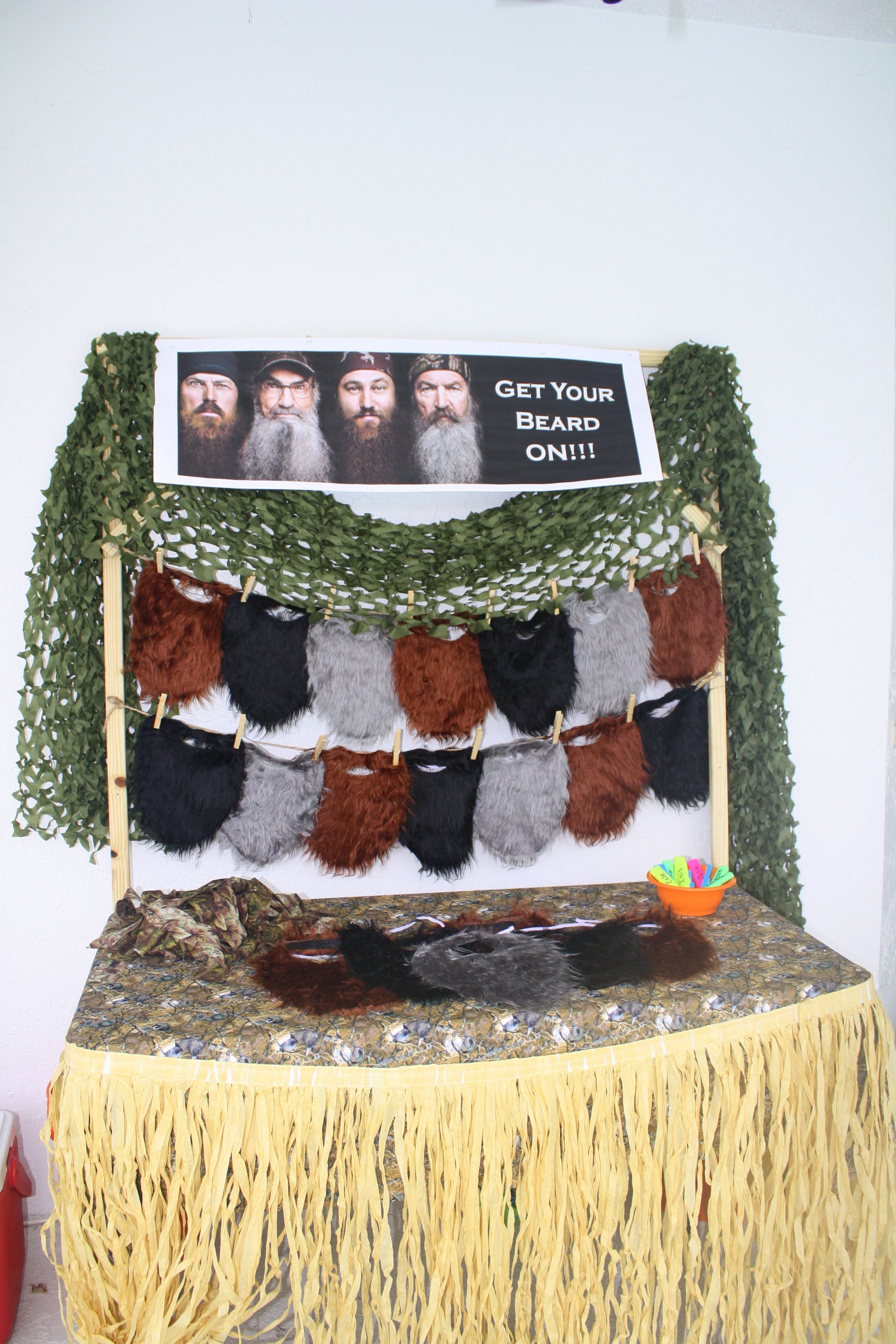 Duck Dynasty Party Beard And Call Favors Seasonal