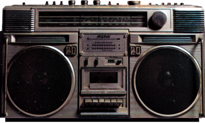 Psd Detail 80 S Boombox Boombox 80s Polyvore